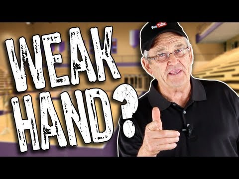 HOW TO IMPROVE YOUR WEAK HAND DRIBBLING!! How to Dribble a Basketball — Shot Science
