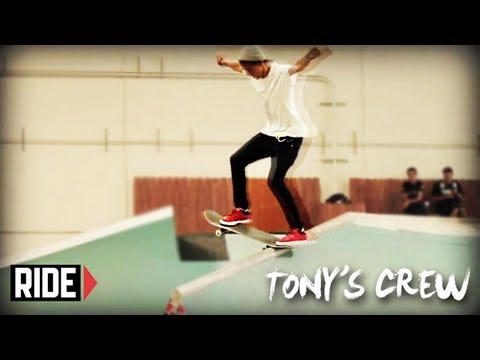 Tony Hawk & Birdhouse Team Skate the Quiksilver TF - Tony's Crew