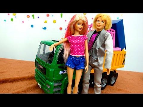Видео для девочек: Барби и Кен и их новый дом
