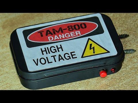 Как сделать мини электрошокер своими руками   SGAM-800