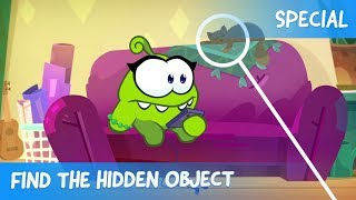 Find the Hidden Object Ep.30 - Om Nom Stories: Cooking Time (Cartoons for children)