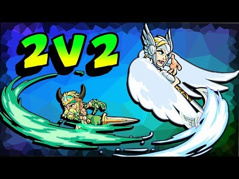 BRAWL OF THE WEEK 2v2's with ZUMWAR! • Brawlhalla Gameplay