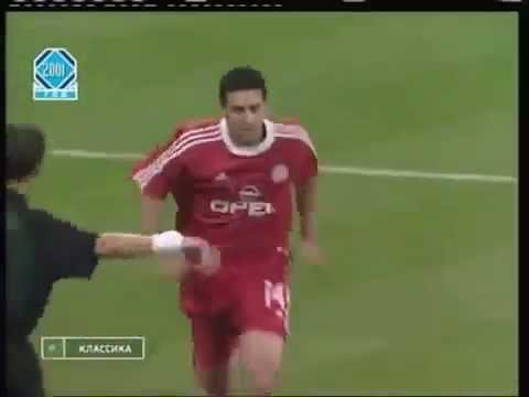 goles de claudio pizarro en liga de campeones con Bayern Munich 2001/2002
