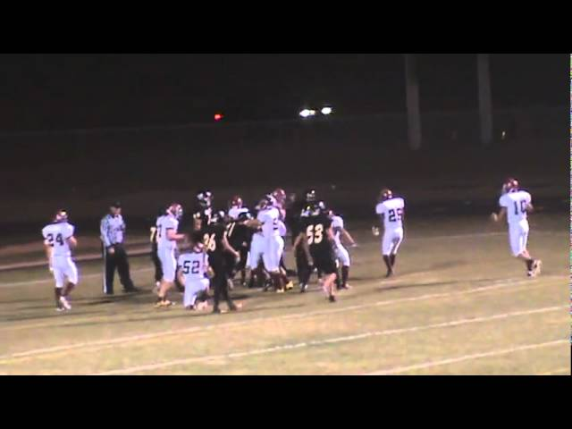 10-7-11 - Touchdown number 2 for Connor Weisser (Brush 14, Valley 7)