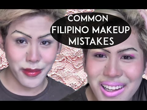 Common Filipino Makeup Mistakes