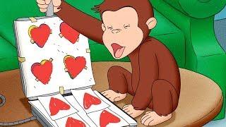 George O Curioso 🐵❤️Feliz Dia dos Namorados❤️🐵 Compilação 🐵 Desenhos Animados