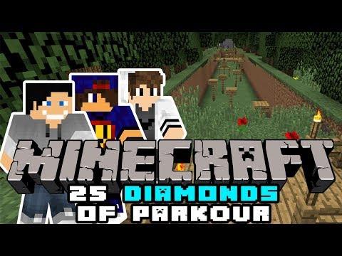 Minecraft Parkour: 25 Diamonds of Parkour #10 w/ Undecided, Tomek