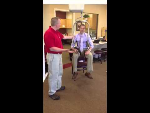 Rehab Center Administrator Tries the SureHands Ceiling Lift