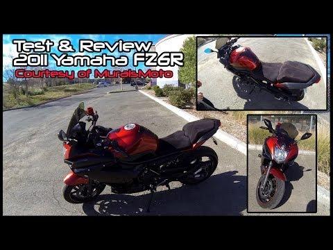 Bike Test & Review: FZ6R! Plus: Bad Drivers, Cop Lights Me Up.