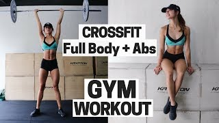 Abs & Full Body Fat Blaster Gym Workout + Warm Up Routine | Weight Training to Burn Calories