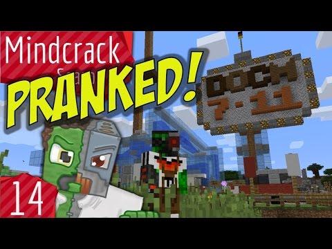 Ghast Station Prank by GenerikB Mindcrack Server Season 5 Episode 14
