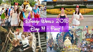 Disney World Vlogs 2015 | Day 14 Part 1