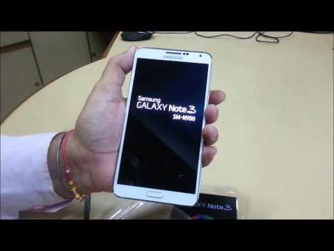 Hindi Unbox note 3 quick review N900 N9000 N9005 N905