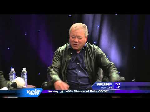 WOWMS - William Shatner - WGN Morning News Interview