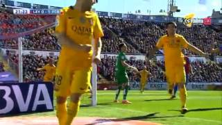 fcb vs levante 2 0 ALL GOALS 07 02 2015