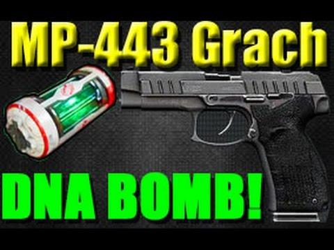 Bird Bomb Pistol Mp443 Grach Pistol Dna Bomb aw