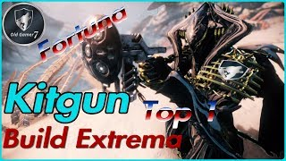 WARFRAME (PARTNER) KITGUN CATCHMOON BUILD EXTREMA! Top secundaria