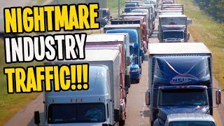 The WORST Industry Traffic I've EVER Seen in Cities Skylines!