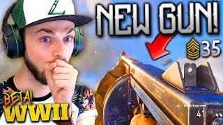 NEW GUNS, KILLSTREAKS + MAX RANK! - Call of Duty: WW2 Beta Gameplay *LIVE* w/ Ali-A!