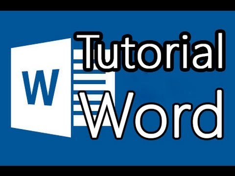 Tutorial Word 2013 - Como hacer buenos documentos