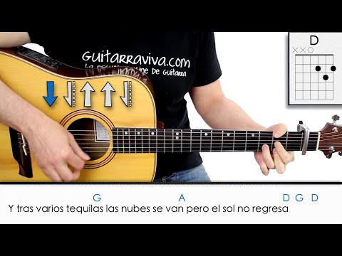 Aprende a tocar EL SOL NO REGRESA de la Quinta Estación 5a en guitarra acordes y letra