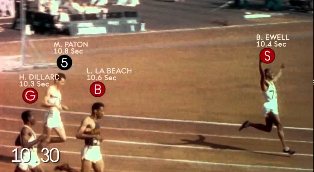 Legendary 100 metre sprint at the london 1948 olympic games youtube