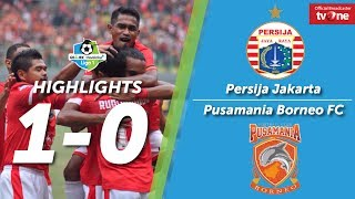 Persija Jakarta Vs Borneo FC: 1-0 All Goal & Highlights