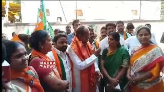 BJP Leader K.laxman Fires on KCR   Laxman Starts Election Campaign   TS Polls