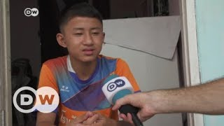 One Thai soccer player who narrowly escaped   DW English