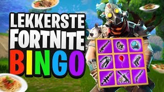 LEKKERSTE FORTNITE BINGO  - Fortnite Mini-Game met Duncan