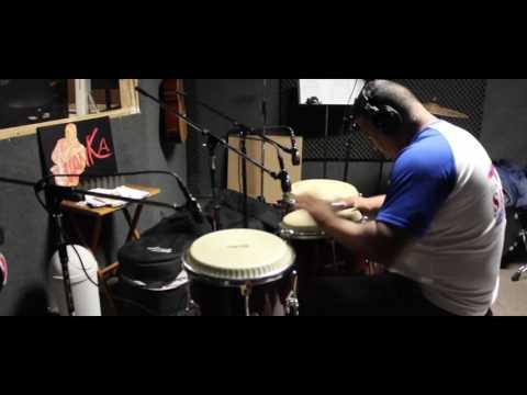 Luisito Quintero and Robert Quintero in The Studio w The L.A. Impromptu Orchestra