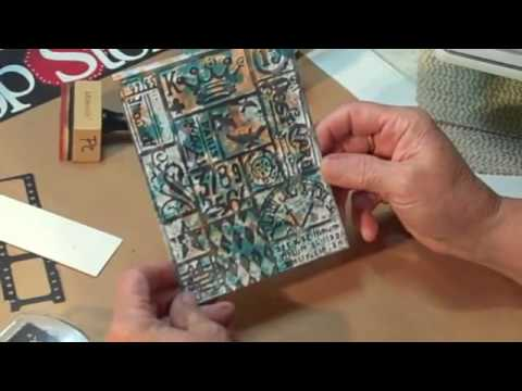 Smooching with Tim Holtz