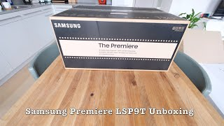 04. Unboxing Samsung Premiere LSP9T UST Projector