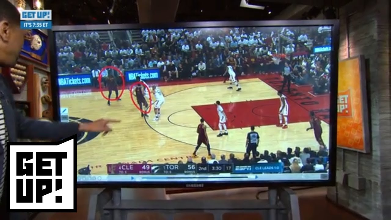 Jalen breaks down film of Kevin Love and LeBron James from Game 2 vs. Raptors | Get Up! | ESPN