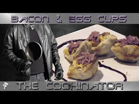 Bacon & Egg Toast Cups Recipe | Cook it Now! with The Cookinator
