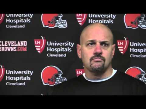 Comments from Mike Pettine after benching Brian Hoyer in Browns loss to the Bills