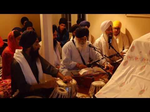 Bhai Tejinderpal Singh (Dhulla Ji) 11.18.2016 - mittiaa andhaeraa chandh charriaa