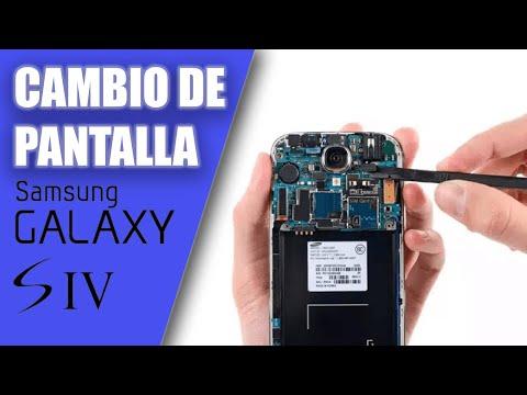 Cambiar pantalla S4 español sustituir pantalla Samsung Galaxy S4 Recambios oficiales