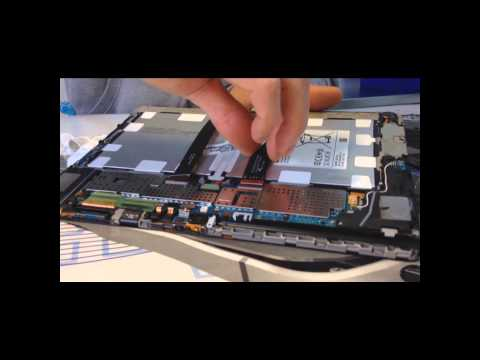 Samsung Galaxy Note 3 10.1 2014 Edition SM-P605 Display Austausch Glas Tausch Reparatur disassembly