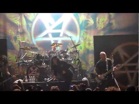 "Anthrax  ""Indians"" @ The HOB Anaheim CA. 1-23-2012"