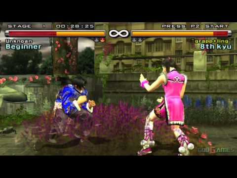 Tekken 5 - Gameplay Ps2 Hd 720p video