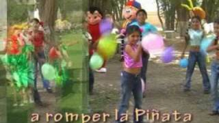 Feliz Cumpleaños A Romper La Piñata / Video Cristiano Para Niños