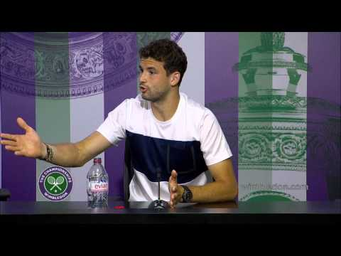 Grigor Dimitrov 'I came to win' - Wimbledon 2014