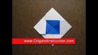 Origami Instructions Origami Square Envelope