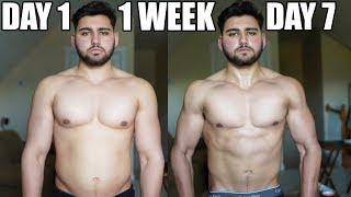 1 Week Body Transformation | Step By Step Fat Loss