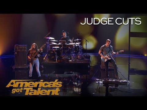 "Download  We Three: Sibling Band Perform Touching Original Called ""Lifeline"" - America's Got Talent 2018 Gratis, download lagu terbaru"