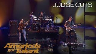 """We Three: Sibling Band Perform Touching Original Called """"Lifeline"""" - America's Got Talent 2018"""