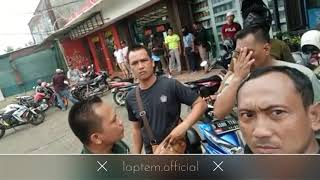 Viral...!!! TNI VS Tukang parkir full duration