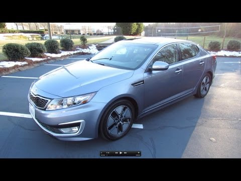 2012 Kia Optima Hybrid Premium Start Up, Exhaust, Test Drive, and In Depth Review