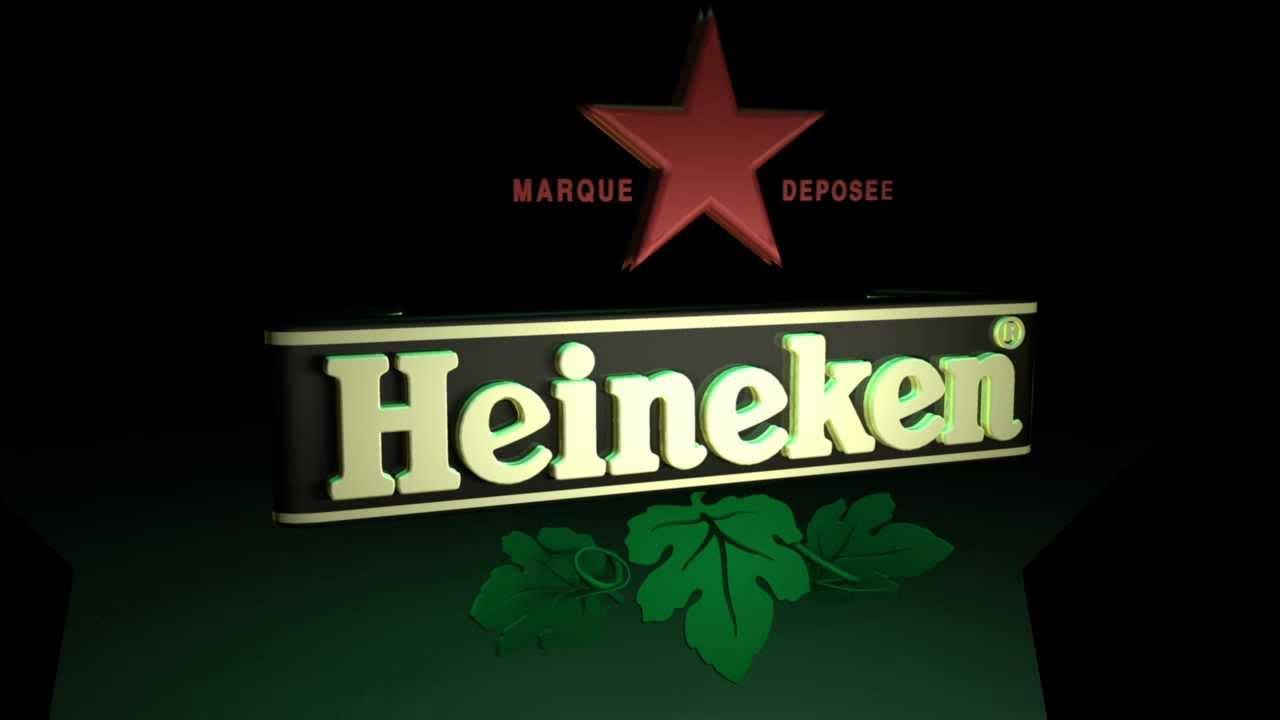 Logo Heineken 3D - YouTube